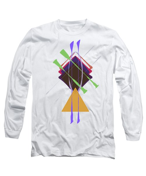 Improvised Geometry #3 Long Sleeve T-Shirt