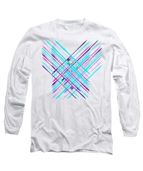 Improvised Geometry #2 Long Sleeve T-Shirt