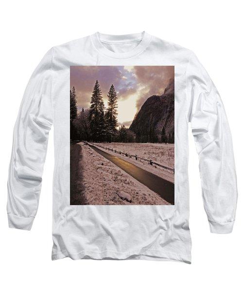 In Between Snow Falls Long Sleeve T-Shirt