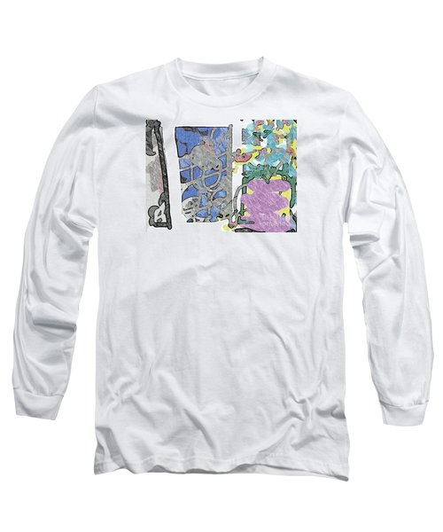 In Between Window And Flowers Long Sleeve T-Shirt