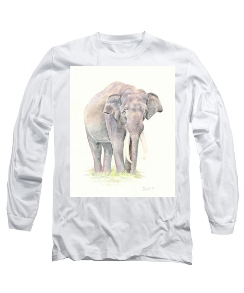 Long Sleeve T-Shirt featuring the painting In Charge by Elizabeth Lock