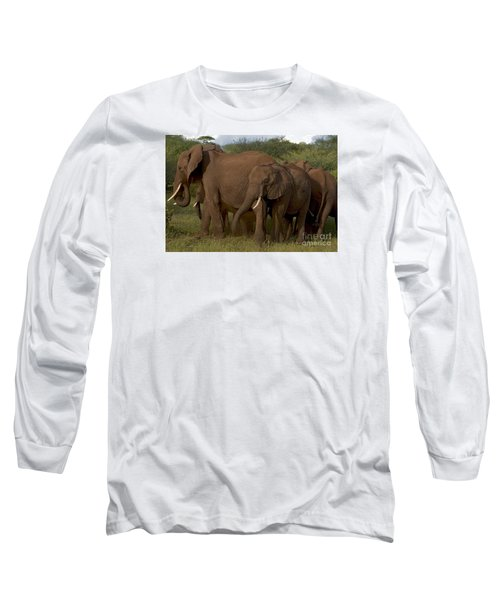 In Close For The Evening-signed Long Sleeve T-Shirt by J L Woody Wooden