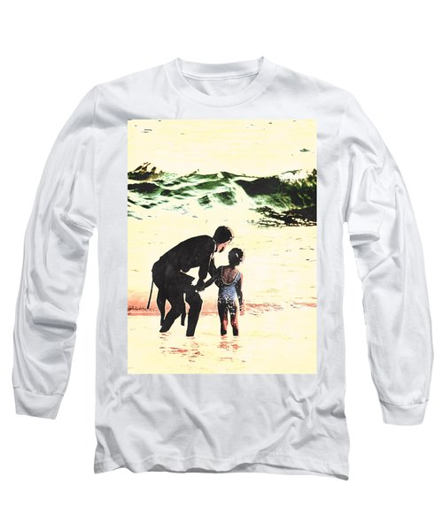 In Daddy's Arms Long Sleeve T-Shirt