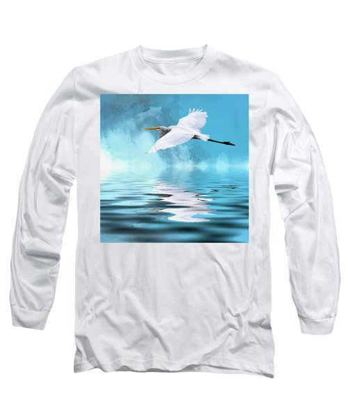 In Flight Long Sleeve T-Shirt by Cyndy Doty
