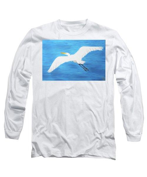 In Flight Entertainment Long Sleeve T-Shirt