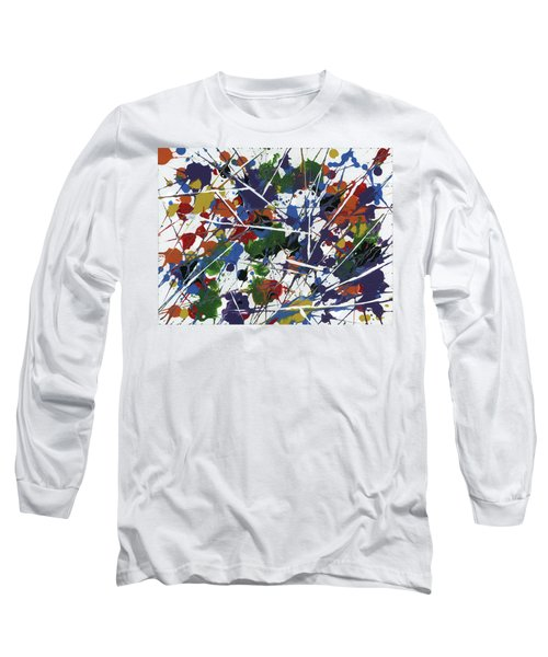 In Glittering Rainbow Shards Long Sleeve T-Shirt