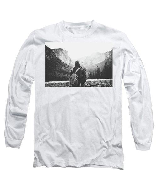 Yosemite Love Long Sleeve T-Shirt by JR Photography