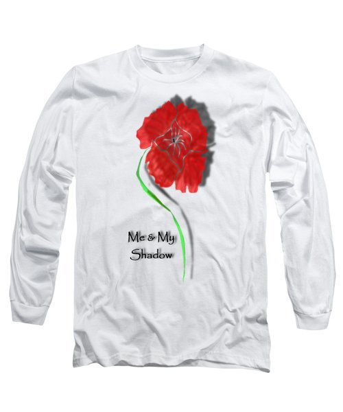 In Remembrance Poppy Long Sleeve T-Shirt by Barbara St Jean