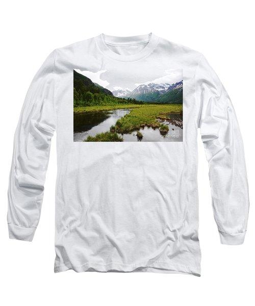 In Road To Denali Long Sleeve T-Shirt