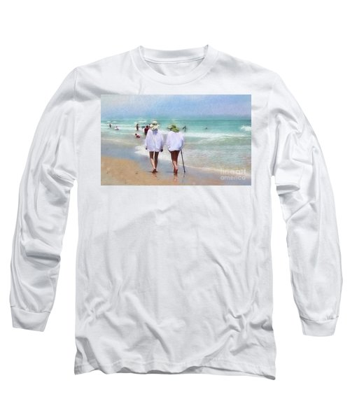 In Step With Life Long Sleeve T-Shirt