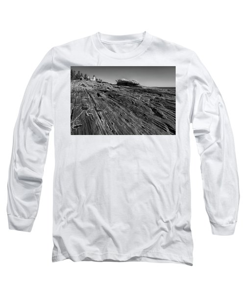 In The Distance Long Sleeve T-Shirt by David Cote