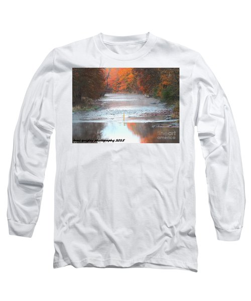 In The Early Morning Mist Long Sleeve T-Shirt