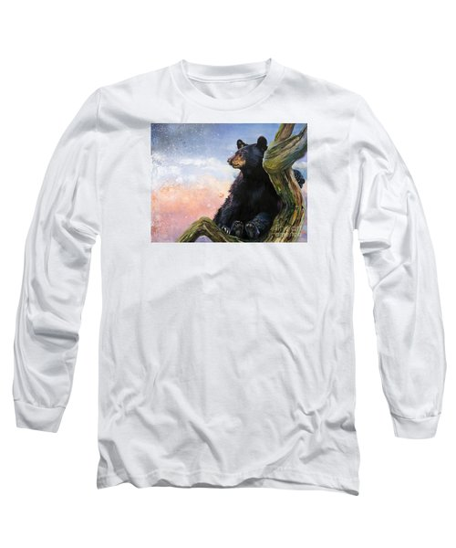 In The Eyes Of Innocence  Long Sleeve T-Shirt by J W Baker