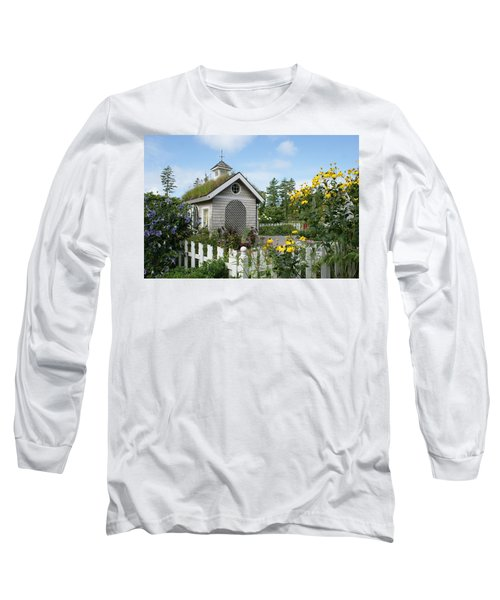 In The Garden Long Sleeve T-Shirt by Lois Lepisto
