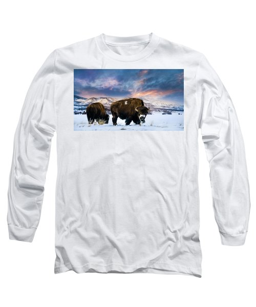 In The Grips Of Winter Long Sleeve T-Shirt