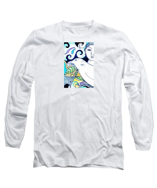 In The Spirit Of Unity 1 Long Sleeve T-Shirt by Helena Tiainen