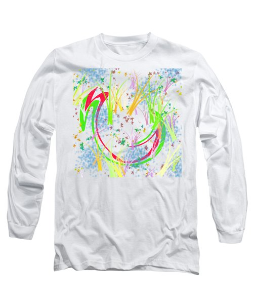 In The Spring Long Sleeve T-Shirt by Bill Cannon