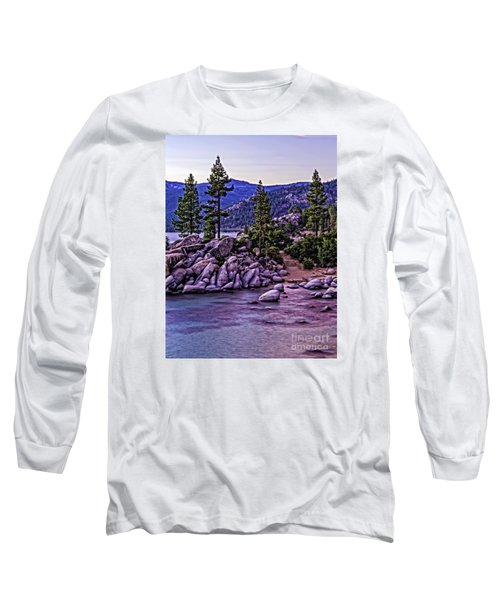 Long Sleeve T-Shirt featuring the photograph In The Still Of Dusk by Nancy Marie Ricketts