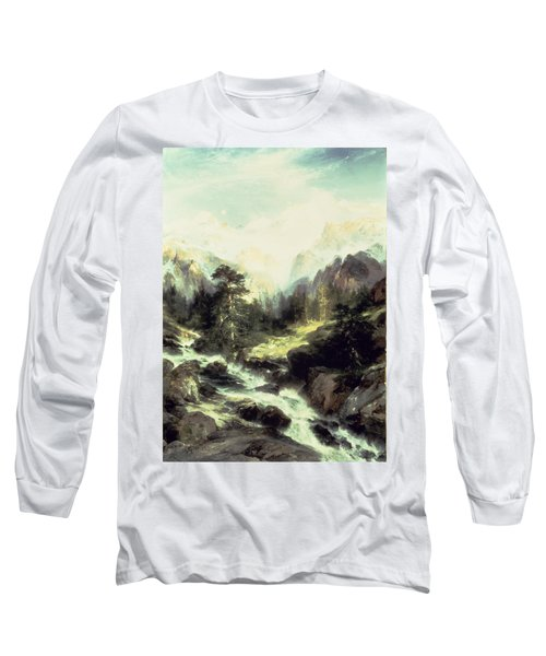 In The Teton Range Long Sleeve T-Shirt