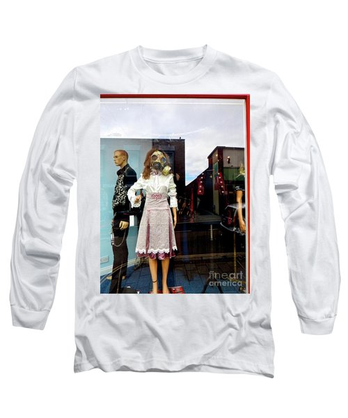 In The Window  Long Sleeve T-Shirt by Gary Bridger