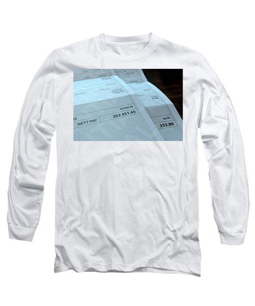 Income Inequality Paychecks Long Sleeve T-Shirt
