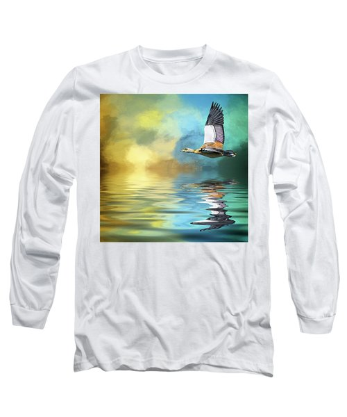 Incoming Long Sleeve T-Shirt by Cyndy Doty
