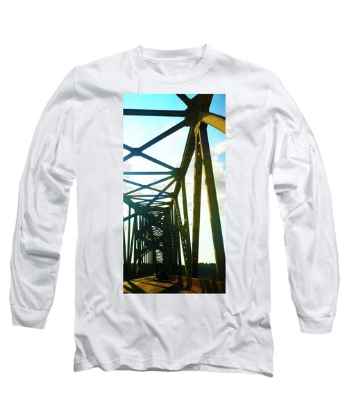 Long Sleeve T-Shirt featuring the photograph Indefinite Sight by Jamie Lynn