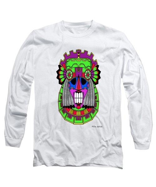 Indian Mask Long Sleeve T-Shirt