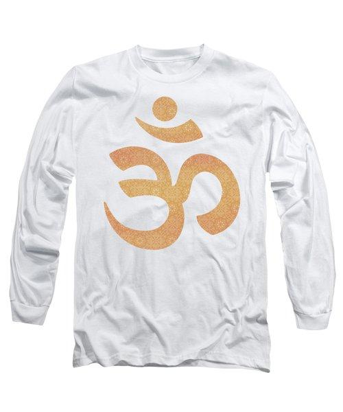 Indian Summer Mandala Copper Long Sleeve T-Shirt