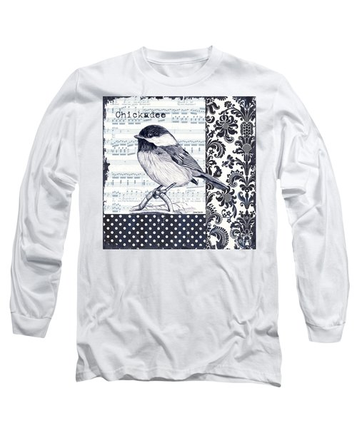 Indigo Vintage Songbird 2 Long Sleeve T-Shirt