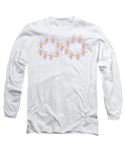 Long Sleeve T-Shirt featuring the photograph Infinity Symbol by Rachel Hannah