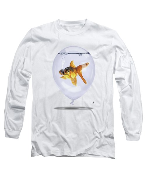 Inflated Colour Long Sleeve T-Shirt by Rob Snow