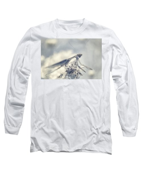Long Sleeve T-Shirt featuring the photograph Infrared Praying Mantis 2 by Brian Hale