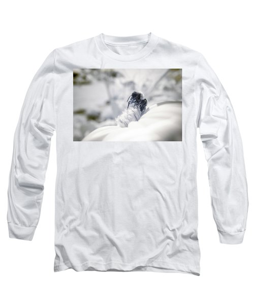 Long Sleeve T-Shirt featuring the photograph Infrared Proboscis 3 by Brian Hale