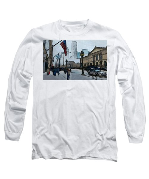 Infrastruction Meltdown Long Sleeve T-Shirt