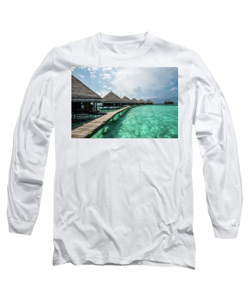 Long Sleeve T-Shirt featuring the photograph Inhale by Hannes Cmarits