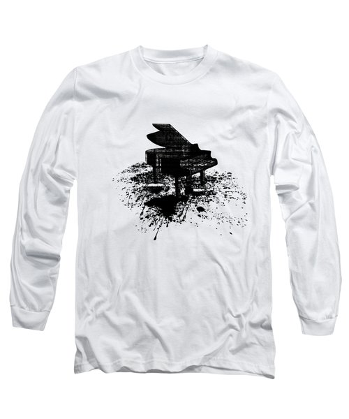Inked Piano Long Sleeve T-Shirt