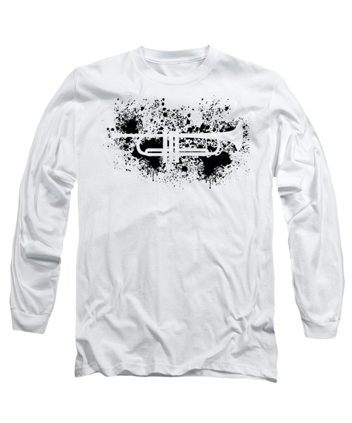 Inked Trumpet Long Sleeve T-Shirt
