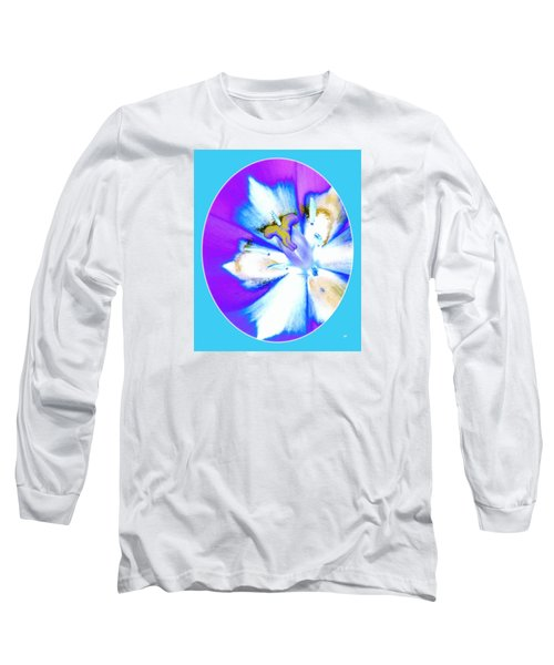 Inner Tulip Abstract 1 Long Sleeve T-Shirt by Will Borden