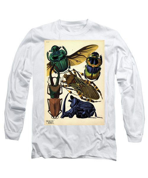 Insects, Plate-15 Long Sleeve T-Shirt