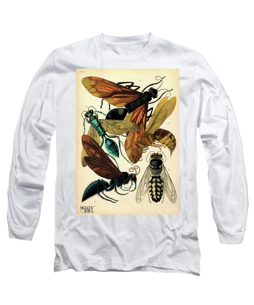 Insects, Plate-6  Long Sleeve T-Shirt
