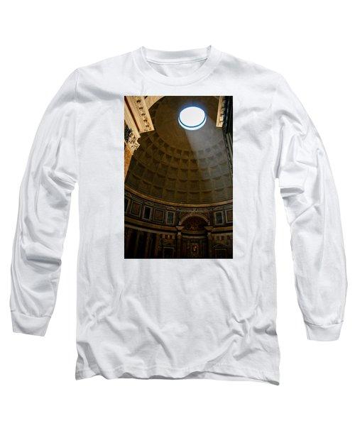 Inside The Pantheon Long Sleeve T-Shirt by Rainer Kersten