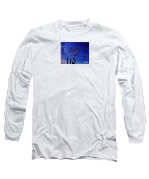 Inspiration Long Sleeve T-Shirt by Dee Flouton
