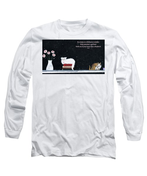 Long Sleeve T-Shirt featuring the photograph Inspiration by Rhonda McDougall