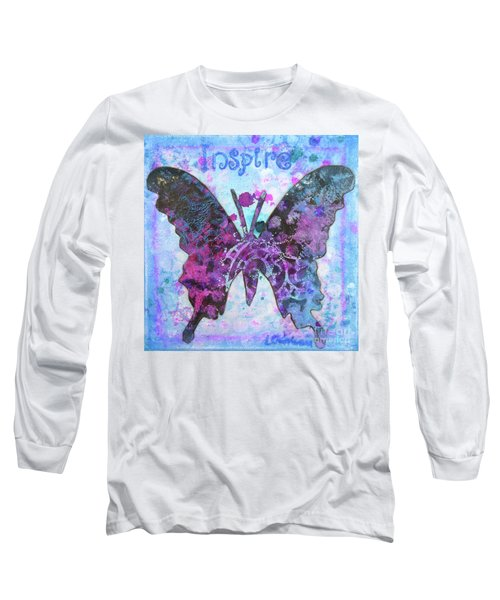 Inspire Butterfly Long Sleeve T-Shirt
