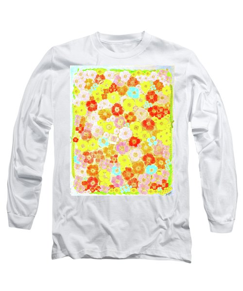 Inspired By Persimmon Long Sleeve T-Shirt by Lorna Maza