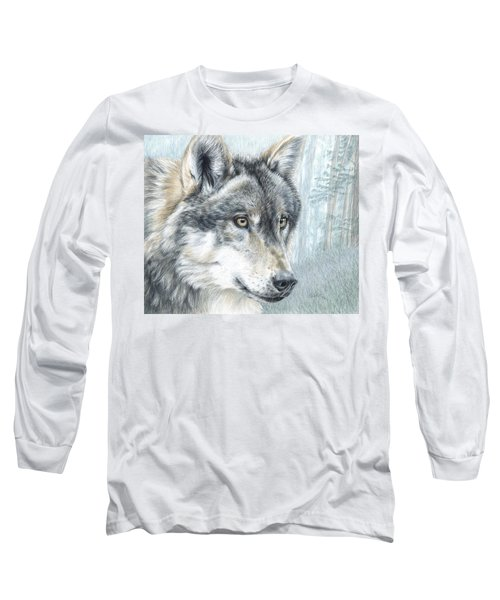Intent Eyes Long Sleeve T-Shirt