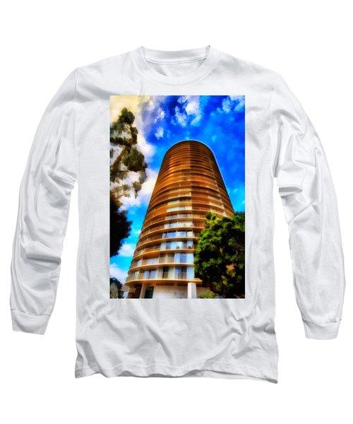 International Tower  Long Sleeve T-Shirt by Joseph Hollingsworth