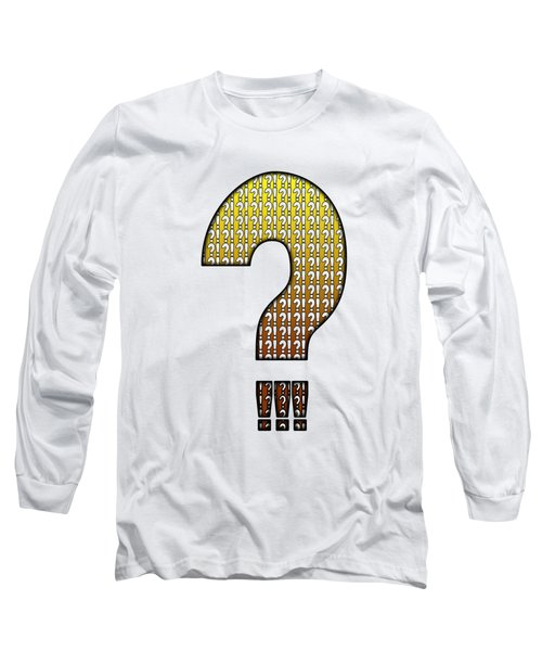 Interrobang Variation Long Sleeve T-Shirt
