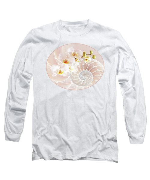 Intimate Fusion In Soft Pink Long Sleeve T-Shirt